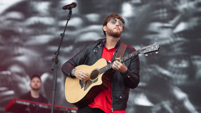 James Arthur opened up about his struggles with anxiety at Radio 1's Big Weekend.