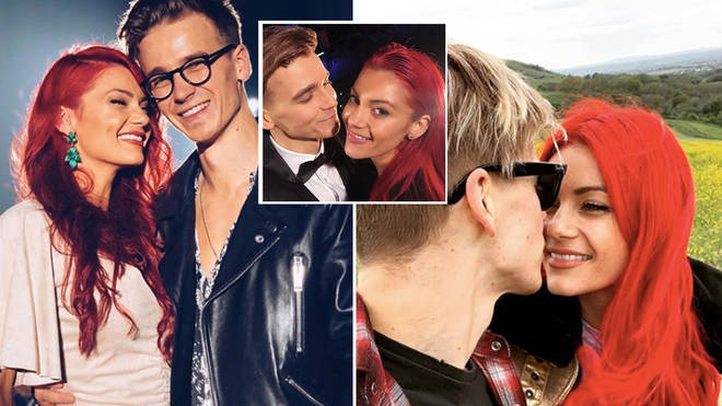 YouTube star Joe Sugg has opened up about his blossoming relationship with dancer Dianne Buswell.