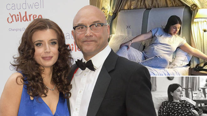 Gregg Wallace and wife Anna announced their pregnancy at the end of last summer.