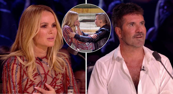 Amanda Holden and Simon Cowell were spooked by The Haunting