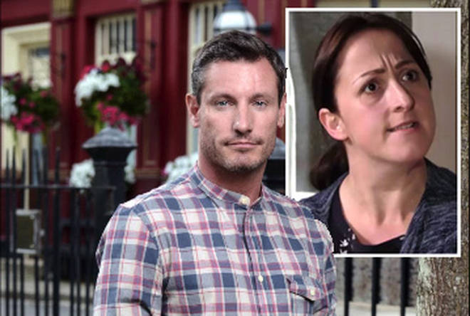 Dean Gaffney is back on The Square as Robbie Jackson
