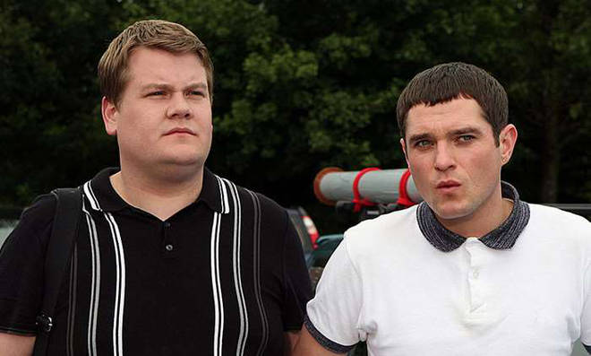 James Corden and Mathew Horne were reported to have fallen out