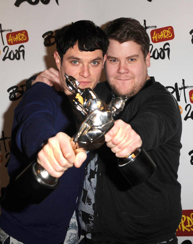 James and Mathew became somewhat of a double act following Gavin & Stacey