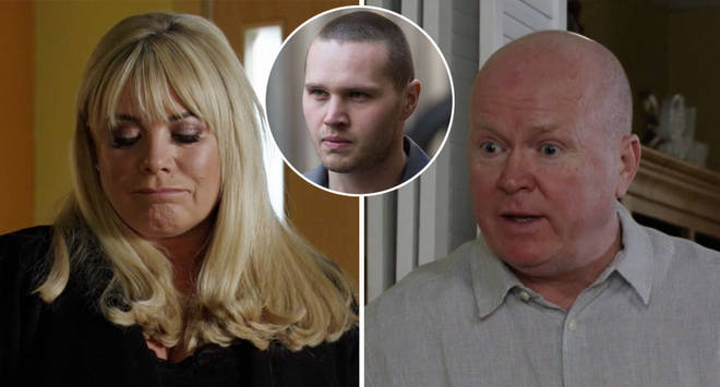 There's set to be trouble for Sharon and Phil