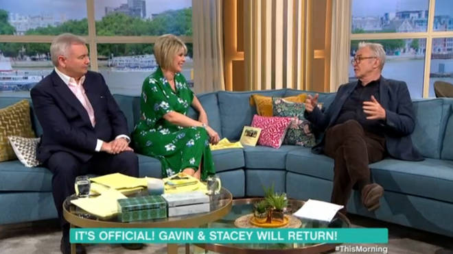 Larry Lamb said he cried when he read the script