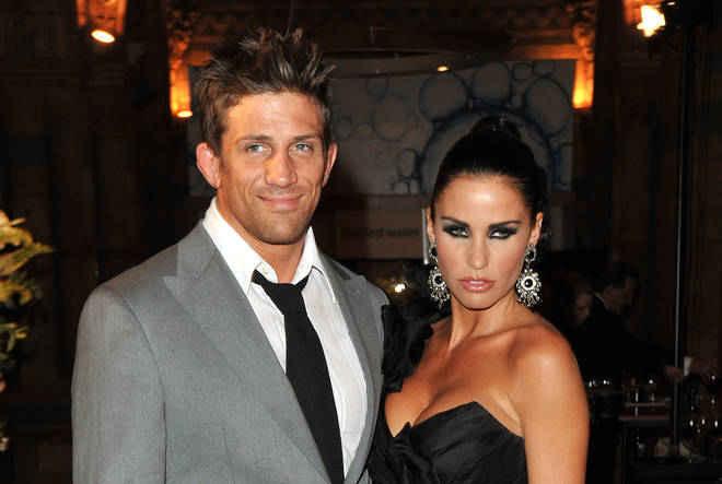 Katie Price with Alex Reid in 2010