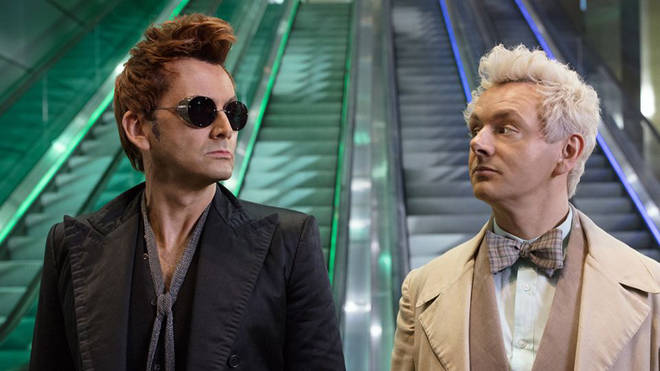 David Tennant and Michael Sheen are starring in Good Omens