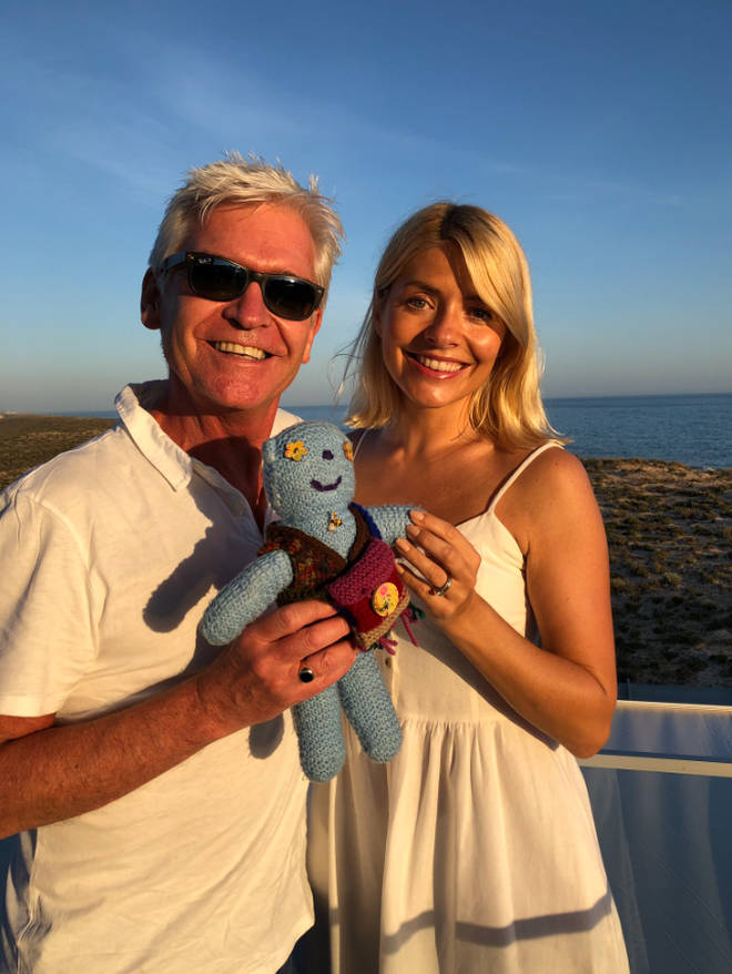 Holly Willoughby and Phillip Schofield are on holiday in Portugal together