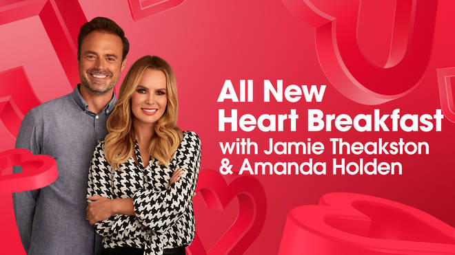 The All New Heart Breakfast with Jamie Theakston and Amanda Holden starts on June 3