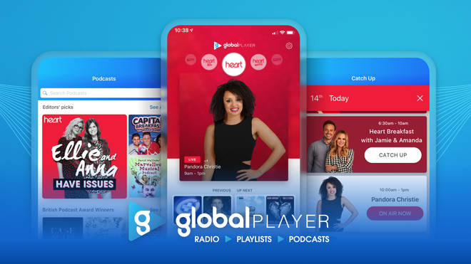 My Heart is available through the Global Player