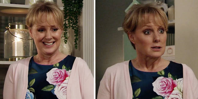 Sally made an x-rated comment on Corrie