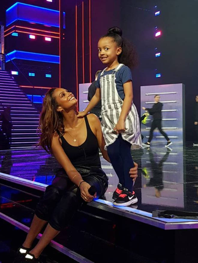 Alesha was pregnant with her second child on BGT in 2019