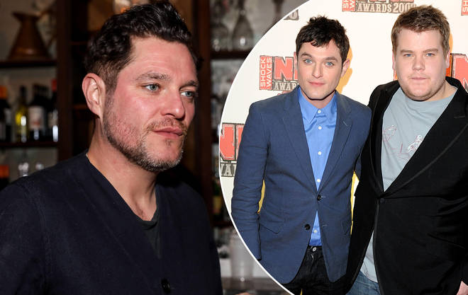 Mathew Horne has opened up on his 'feud' with James Corden