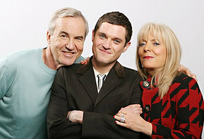 Mathew Horne starred alongside on-screen mum and dad Larry Lamb and Alison Steadman