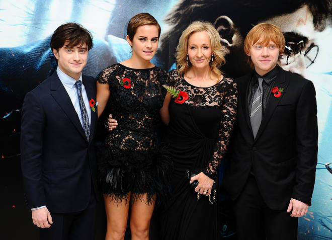 JK Rowling's books were transformed into a film franchise