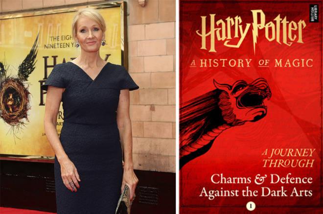 JK Rowling has written four new books