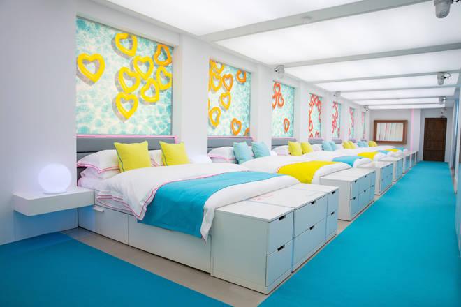 The long corridor-like bedroom is back for more debauchery