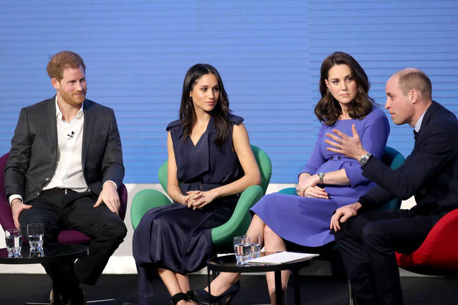 Meghan Markle joined the royals last year for the first Royal Foundation forum