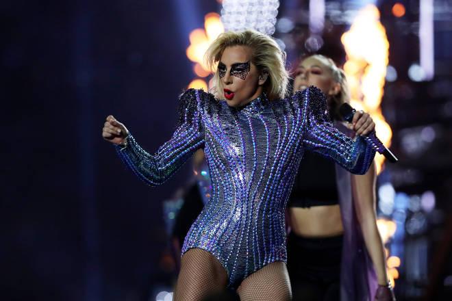 Lady Gaga's Versace bodysuit is on display