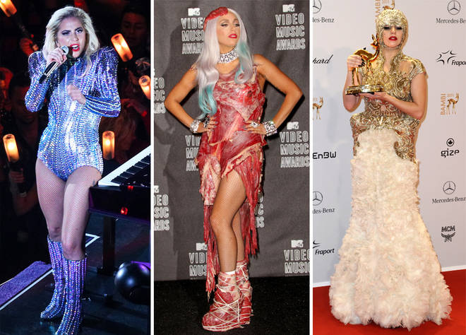 Lady Gaga's most iconic outfits are being displayed in Vegas
