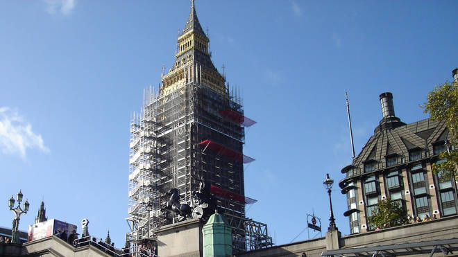 Essential maintenance is being carried out on one of London's most iconic landmarks