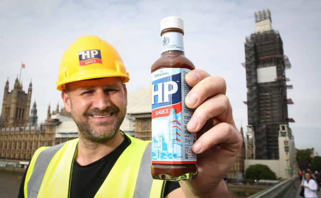 HP Sauce has undergone a new makeover