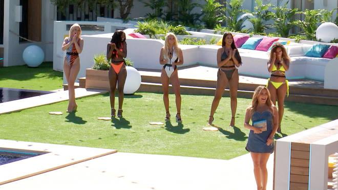 The Love Island girls were ready to meet the men