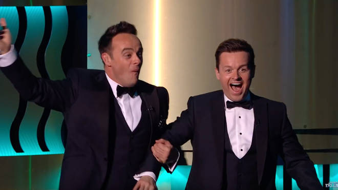 Ant and Dec were left speechless when X was revealed as their golden buzzer act from the previous year