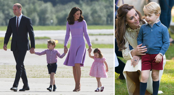 Prince George helped his parents in the cutest way