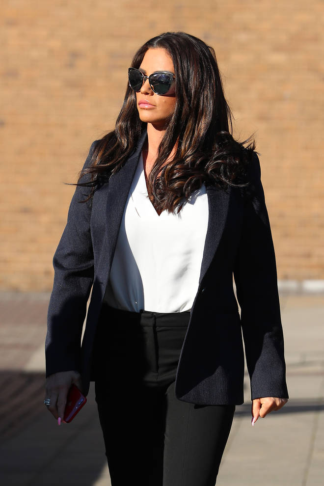 Katie Price pleaded guilty on Monday