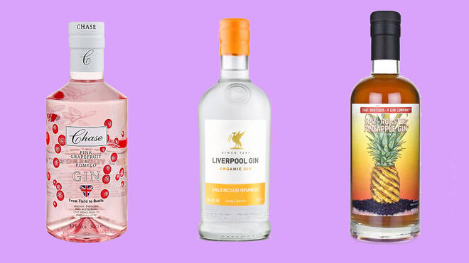 These three tipples would go splendidly with a light tonic