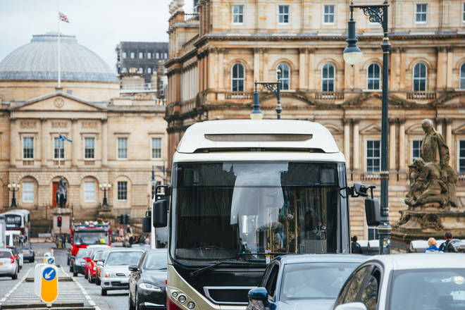 Edinburgh was found to be the worst place for traffic in the UK