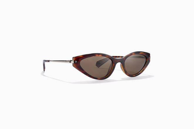 These sleek cat-eye glasses are £45 and come in two colours
