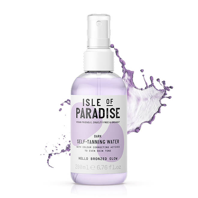 Isle of Paradise have a huge range that's easy to distinguish between the three shades of tan