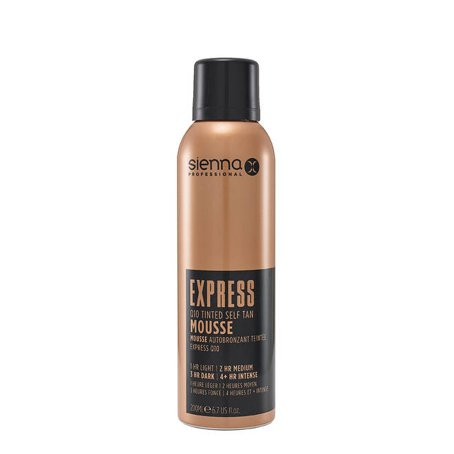 The EXPRESS Q10 will leave you bronzed in only an hour