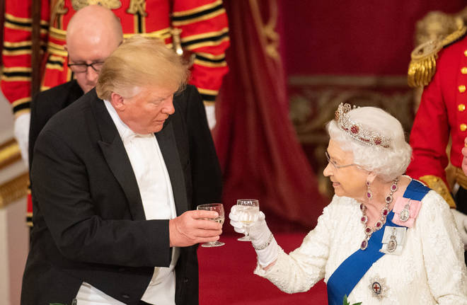 The Queen was very sincere as she welcomed Donald Trump to the UK