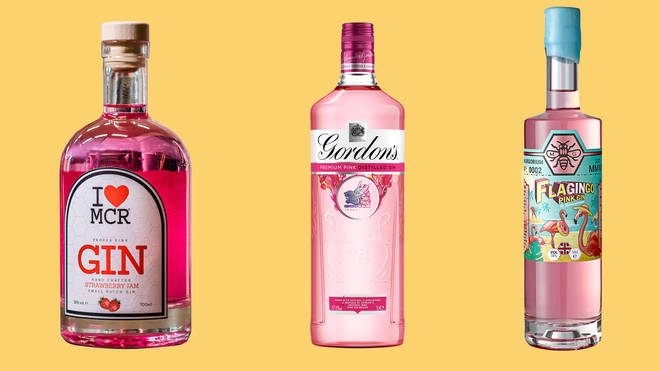 These pink gins almost look too good to open!