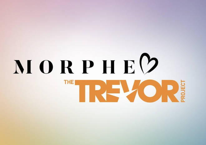 Morphe have paired with the Trevor Project which is the world's largest suicide prevention organisation for LGBTQ+ youth