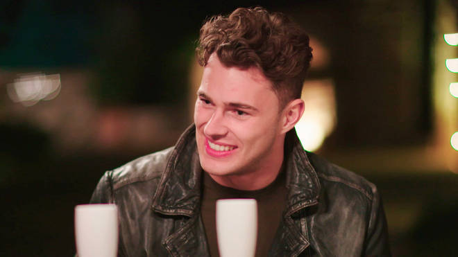 Curtis opened up about his girlfriend during episode three of Love Island