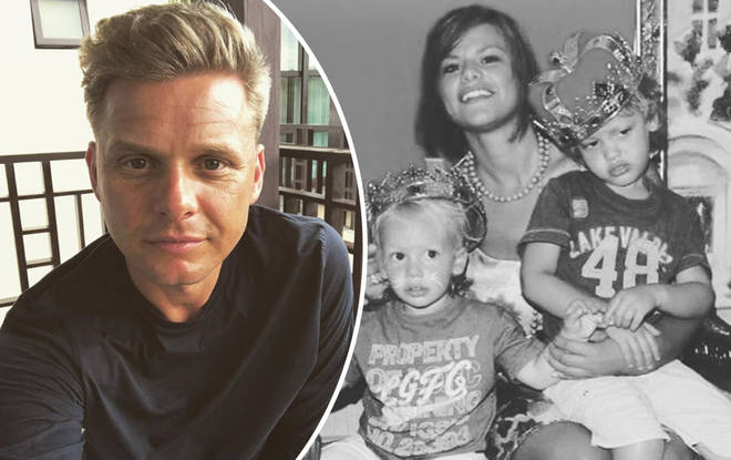 Former football pro Jeff shared the touching tribute on social media