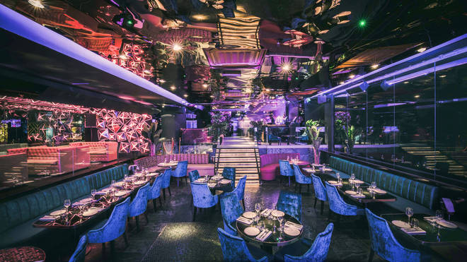 Opium has a lavish set-up and will make you feel like royalty