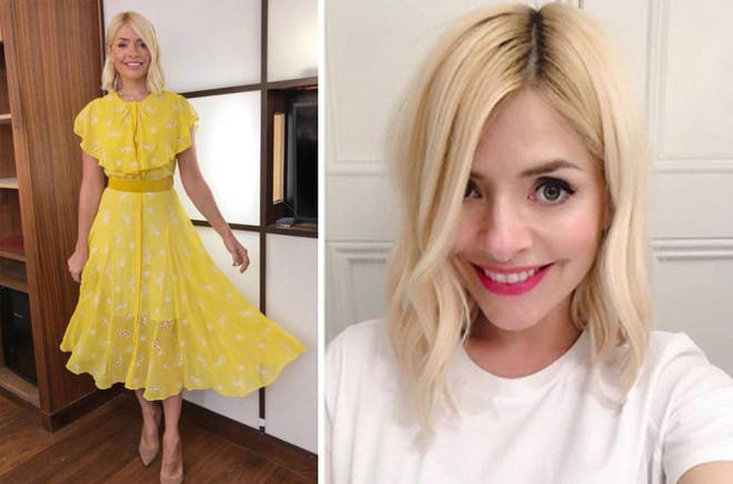 Holly's latest outfit is from Beulah London