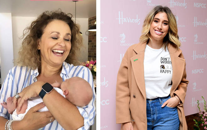Stacey's introduced her newborn son to the Loose Women
