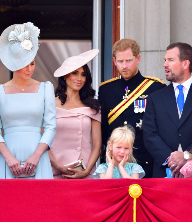 Meghan Markle attended her first Trooping the Colour last year following her wedding