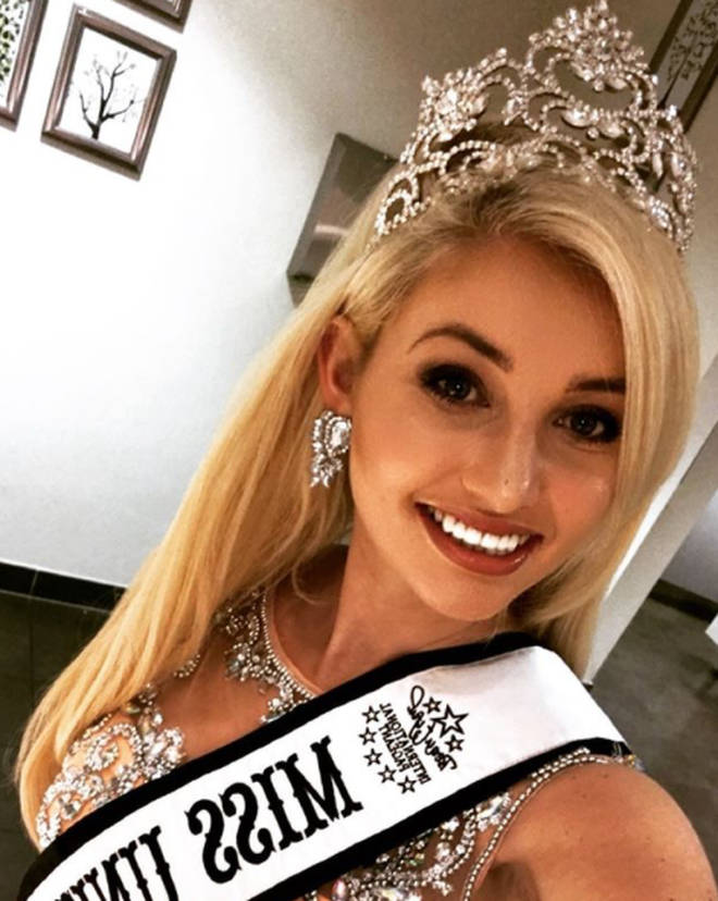 Amy is a former Miss United Kingdom