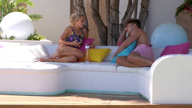 Love Island viewers are in love with Lucie's swimsuit