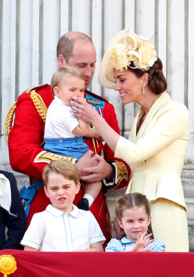 Kate Middleton dotes on her adorable 13-month-old son Louis.