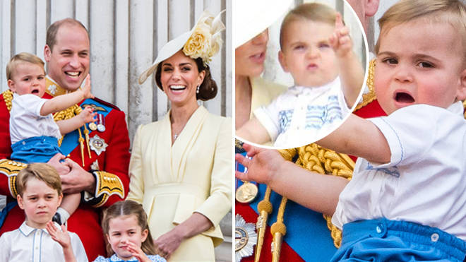 Prince Louis steals the show at this year's Trooping the Colour.