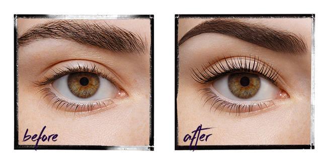 LVL eyelash lift