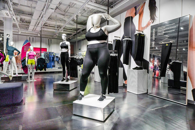 The Oxford Street store is the first to feature plus size mannequins with more stores to follow.